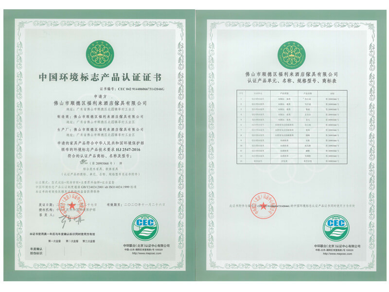 Environmental Sign Certification